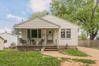 Elyria OH Single Family Home For Sale: $89,900