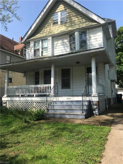 Cleveland Single Family Home Active Under Contract: 2066 W 101st Street