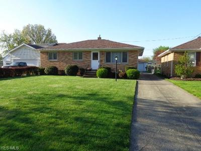 Parma Heights Single Family Home For Sale: 9283 Roxbury Rd