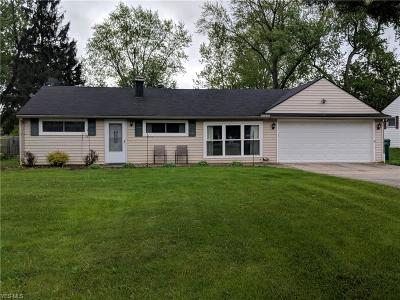 Twinsburg Single Family Home Contingent: 1924 Westwood Dr