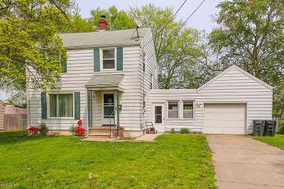 Elyria OH Single Family Home For Sale: $94,900