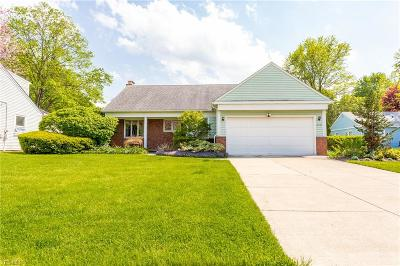Rocky River Single Family Home For Sale: 21131 West Wagar Cir