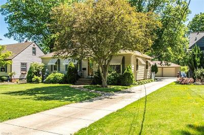 North Olmsted Single Family Home For Sale: 2947 Clague Road