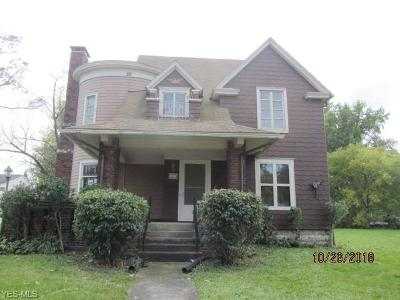 Lorain OH Single Family Home For Sale: $44,900