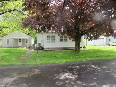 Painesville OH Single Family Home For Sale: $90,000