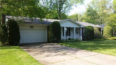 Kent Single Family Home For Sale: 702 Beryl Dr