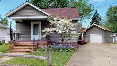Painesville Single Family Home Active Under Contract: 78 W Walnut Avenue