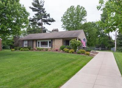 Single Family Home For Sale: 6892 Brecksville Rd
