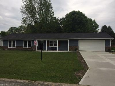 Garrettsville Single Family Home For Sale: 8144 Meadow Run