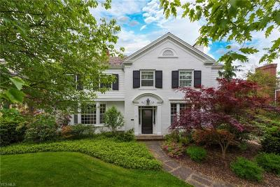 Shaker Heights Single Family Home For Sale: 2706 Dryden Rd