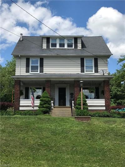 East Palestine Single Family Home Active Under Contract: 524 W North Avenue