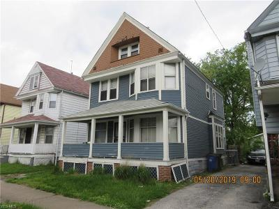 Cleveland Single Family Home For Sale: 10911 Hull Avenue