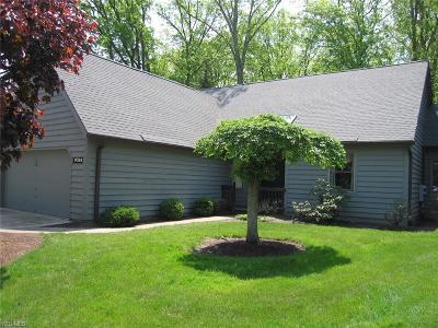 Brecksville Condo/Townhouse For Sale: 9088 Woodcrest Dr