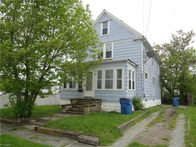 Lorain Single Family Home For Sale: 109 W 29th Street