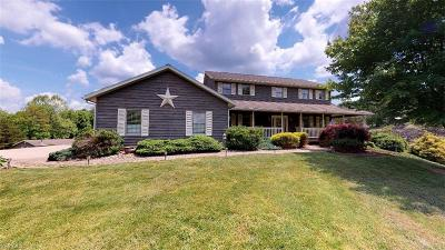 Belpre Single Family Home For Sale: 456 Moody Ridge Road