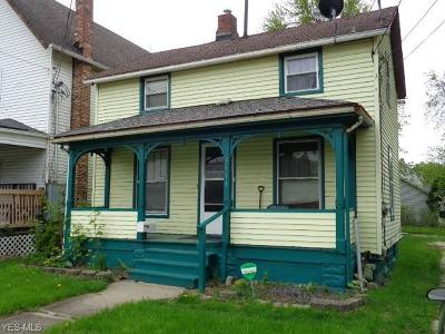 Ashtabula Single Family Home For Sale: 3511 Lake Avenue