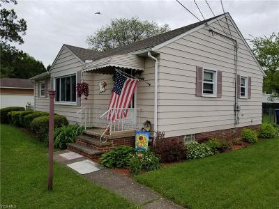 North Olmsted Single Family Home For Sale: 5504 Decker Rd
