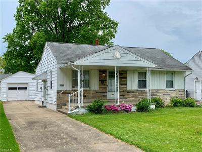 Boardman Single Family Home Active Under Contract: 3934 Stratmore Avenue