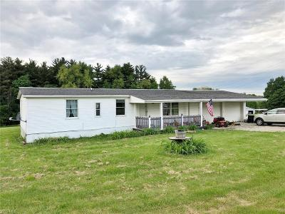 Muskingum County Single Family Home For Sale: 2835 Adamsville Rd