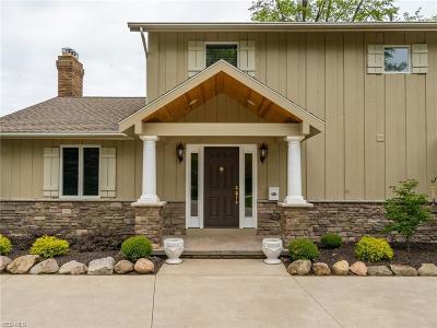 Avon, Avon Lake Single Family Home For Sale: 31800 Lake Rd