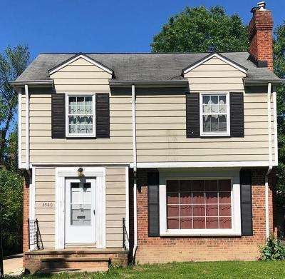 Shaker Heights Single Family Home For Sale: 3560 Tolland Rd