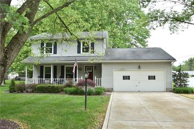 Boardman OH Single Family Home Active Under Contract: $174,900