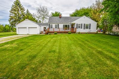 North Ridgeville Single Family Home Contingent: 8699 Root Rd