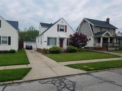 Parma Single Family Home For Sale: 3443 Torrington Ave
