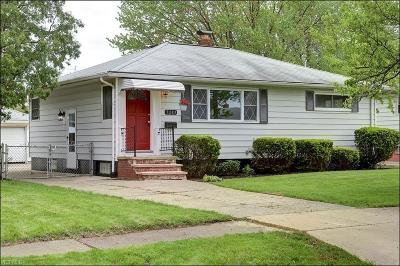 Brook Park Single Family Home Active Under Contract: 5283 W 150th Street