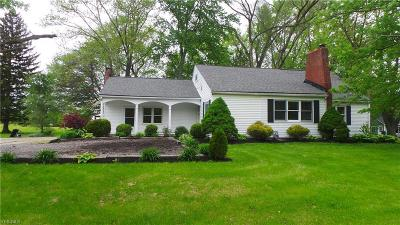 Elyria Single Family Home Active Under Contract: 41464 Oberlin Road
