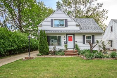 Wickliffe Single Family Home For Sale: 815 Bryn Mawr Avenue