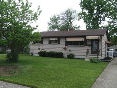 Eastlake Single Family Home For Sale: 212 Erieview Drive