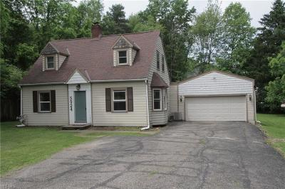 Kent Single Family Home For Sale: 5924 Horning Road