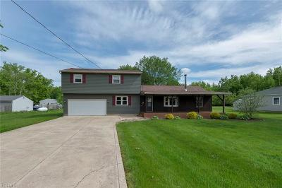 Single Family Home For Sale: 34500 Cooley Rd