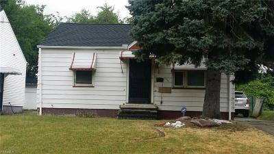 Cleveland Single Family Home For Sale: 10009 Sandusky Avenue