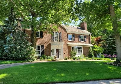 Shaker Heights Single Family Home For Sale: 23276 Laureldale Road