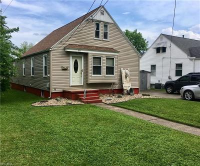 Belpre Single Family Home Active Under Contract: 515 Wirt Street