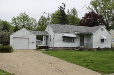 Single Family Home For Sale: 205 Moore Rd
