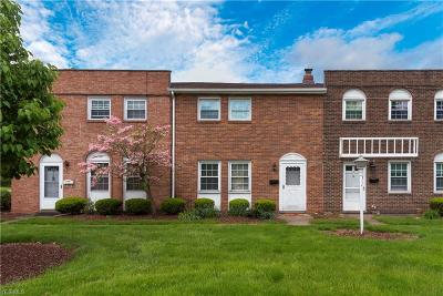 North Olmsted Condo/Townhouse For Sale: 24466 Clareshire Rd #10B