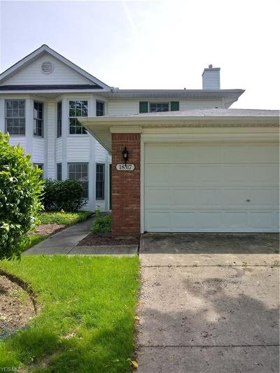 Strongsville OH Condo/Townhouse For Sale: $135,000