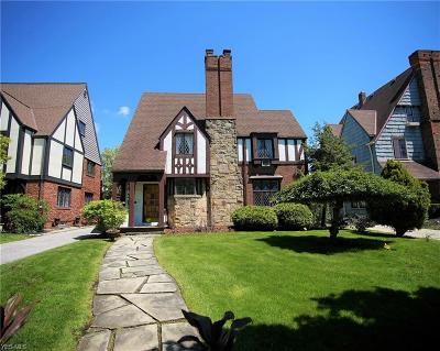 Shaker Heights Single Family Home For Sale: 3627 Lytle Rd