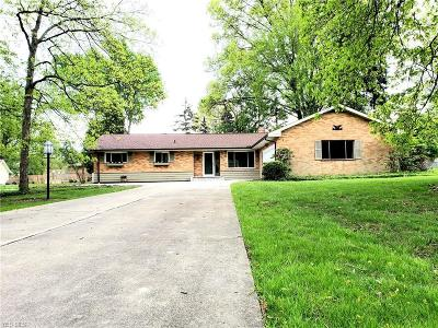 Brecksville Single Family Home Contingent: 7544 Amber Ln