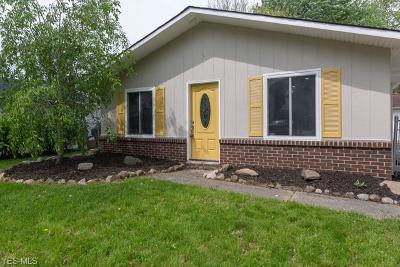 North Ridgeville Single Family Home For Sale: 6396 Rosebelle Ave