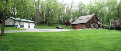 Columbiana County Single Family Home For Sale: 861 Beeson Mill Road