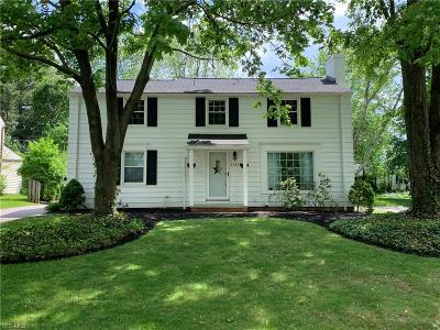 Shaker Heights Single Family Home Coming Soon: 20820 Farnsleigh Rd