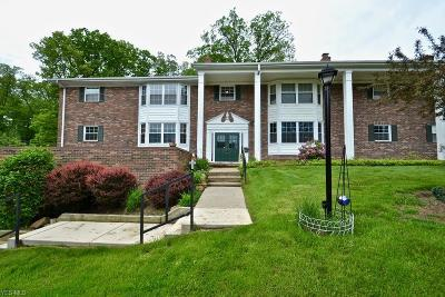 Brecksville Condo/Townhouse For Sale: 6990 Carriage Hill Dr #102