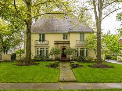 Shaker Heights Single Family Home Active Under Contract: 2996 Montgomery Road