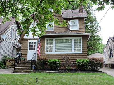 Cleveland OH Single Family Home For Sale: $160,000