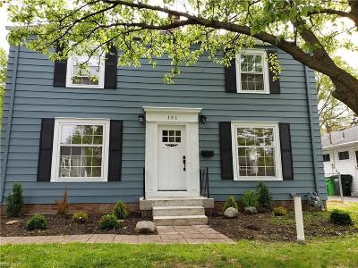 Avon Lake Single Family Home Active Under Contract: 151 Inwood Boulevard