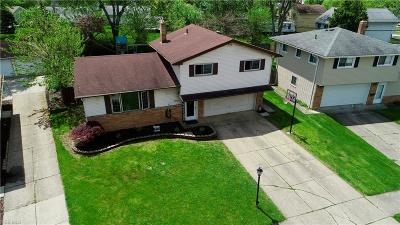 Parma Heights Single Family Home For Sale: 10719 Appleton Drive